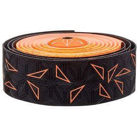 Supacaz Super Sticky Kush Starfade Handlebar Tape neon orange